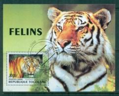 Togo 2000 Tigers MS CTO - Togo (1960-...)