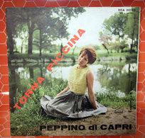 "PEPPINO DI CAPRI TORNA PICCINA  COVER NO VINYL 45 GIRI - 7"" - Accessori & Bustine"
