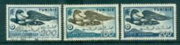 Tunisia 1949 Bird, Airmail FU/MLH - Tunisia