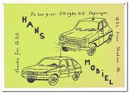 Hans Mobiel, Panningen - QSL-Kaarten