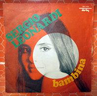 """SERGIO LEONARDI BAMBINA  COVER NO VINYL 45 GIRI - 7"""" - Accessori & Bustine"""