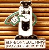 Joli Pin's Elf, Zamac, Pins Pin. - Fuels