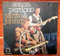 """SANTO & JOHNNY SENZA PERDONO COVER NO VINYL 45 GIRI - 7"""" - Accessori & Bustine"""