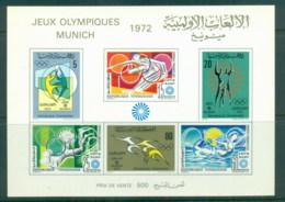 Tunisia 1972 Summer Olympics, Munich MS MUH - Tunisia