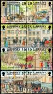 ~~~ Alderney 1998 - Garrison History - Mi.  121/128 ** MNH ~~~ - Alderney