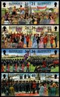 ~~~ Alderney 2000 - Garrison History - Mi.  158/165 ** MNH ~~~ - Alderney