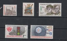 1980 -1993  TY / 2931 -3116 -3113 -2723 - Tchécoslovaquie