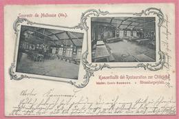68 - SOUVENIR De MULHOUSE - Restauration  Zur Citéküche - Louis BAUMANN - Strassburgerplatz - Mulhouse