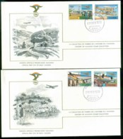Uganda 1978 History Of Aviation, FAI 2xFDC Lot79585 - Uganda (1962-...)