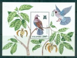 Uganda 1982 Birds MS MUH - Uganda (1962-...)