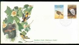 Uganda 1985 Audubon Birds,  Franlkin Mint FDC Lot79683 - Uganda (1962-...)