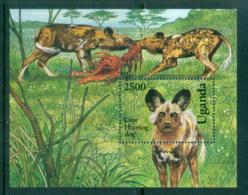 Uganda 1993 Dogs, Cape Hunting Dogs MS MUH - Uganda (1962-...)