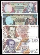 "EQUATEUR Ecuador 50000,20000,10000,5000 SUCRES 1999 Lot 4 PCS UNC ""SPECIAL PRICE"" - Equateur"