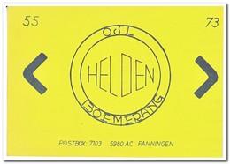 Boemerang, Helden - QSL-Kaarten