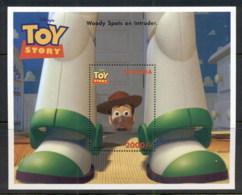 Uganda 1997 Disney, Toy Story, Woody MS MUH - Uganda (1962-...)
