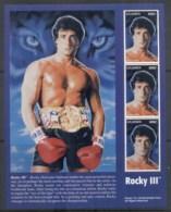 Uganda 2000 Sylvester Stallone, Rocky IIIsheetlet - Uganda (1962-...)