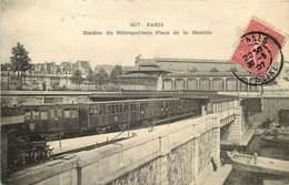 PARIS LE METRO  Station Du  Metropolitain A  La Bastille - Métro Parisien, Gares