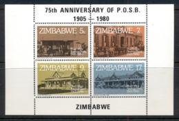 Zimbabwe 1980 Post Office Savings Bank MS MUH - Zimbabwe (1980-...)