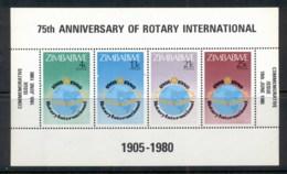 Zimbabwe 1980 Rotary Intl MS MUH - Zimbabwe (1980-...)