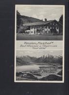 Dt. Reich AK Pension Nazihof Bad Wiessee 1943 - Bad Wiessee