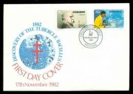 Zimbabwe 1982 Anti TB FDC Lot51729 - Zimbabwe (1980-...)