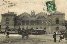 PARIS LE METRO  Gare Montparnasse - Métro Parisien, Gares