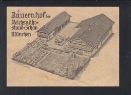 Dt. Reich PK Bauernhof Der Reichsnährstand-Schau München Mangelhaft - München