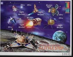 BHOUTAN  Feuillet  N° 1513/18 * *   ( Cote 14.50e )  Espace Sondes - Space