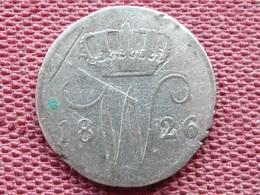 PAYS BAS Monnaie De 25 Cent 1826 Année RARE - [ 3] 1815-… : Royaume Des Pays-Bas