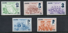 Zaire 1980 Belgian Independence Sesqui. MUH - Stamps