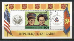 Zaire 1980 Salvation Army MSFU - Stamps