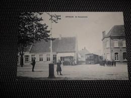 Ertvelde  :   De Dorpsplaats  -  Tram à Vapeur  -  Stoomtram - Evergem
