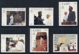 Zaire 1981 Pope John Paul II Visit 1st Anniv (light Tone Spots) MUH - Stamps