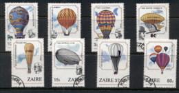 Zaire 1984 Manned Flight Bicentenary FU - Stamps