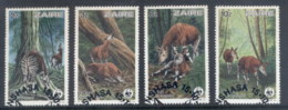 Zaire 1984 WWF Okapi FU - Stamps
