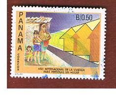 PANAMA -  SG 1468    -    1987   INT. YEAR FOR HOMELESS        -  USED° - Panama