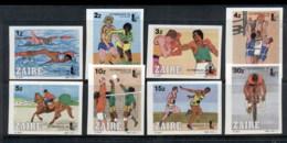 Zaire 1985 Olymphilex, Sport IMPERF MUH - Stamps