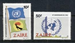 Zaire 1985 UN 40th Anniv. MUH - Stamps