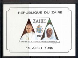 Zaire 1986 Beatification Of Sister Nengapeta MS MUH - Africa (Other)