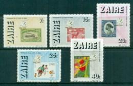 Zaire 1986 Centenary Of Post In Zaire MUH - Stamps