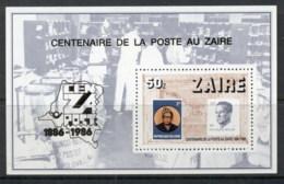 Zaire 1986 Postage Stamp Anniv. MS MUH - Africa (Other)