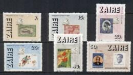 Zaire 1986 Postage Stamp Anniv. MUH - Stamps