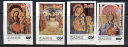 Zaire 1987 Xmas IMPERF MUH - Stamps