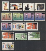 Zaire 1994 On Assorted Surcharges, Opts MUH/FU - Stamps