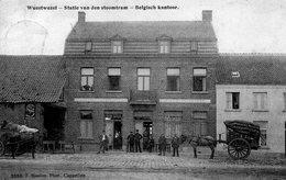 Wuestwezel - Statie Van Den Stoomtram - Belgisch Kantoor - In De Ster - 1910 / Station Van De Tram - Wuustwezel