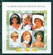 Zaire 1998 Princess Diana In Memoriam 250fr MS MUH Lot82007 - Stamps