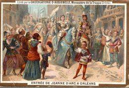 CHROMO ENTREE DE JEANNE D'ARC A ORLEANS - Chromos