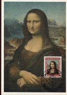 38124 Germany, Maximum 1952 Painting Of Leonardo Da Vinci, Joconde,mona Lisa Gioconda - Arts