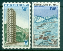 Mali 1968 Winter Olympics, Grenoble MUH - Mali (1959-...)