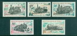 Mali 1970 Old Steam Trains MUH - Mali (1959-...)